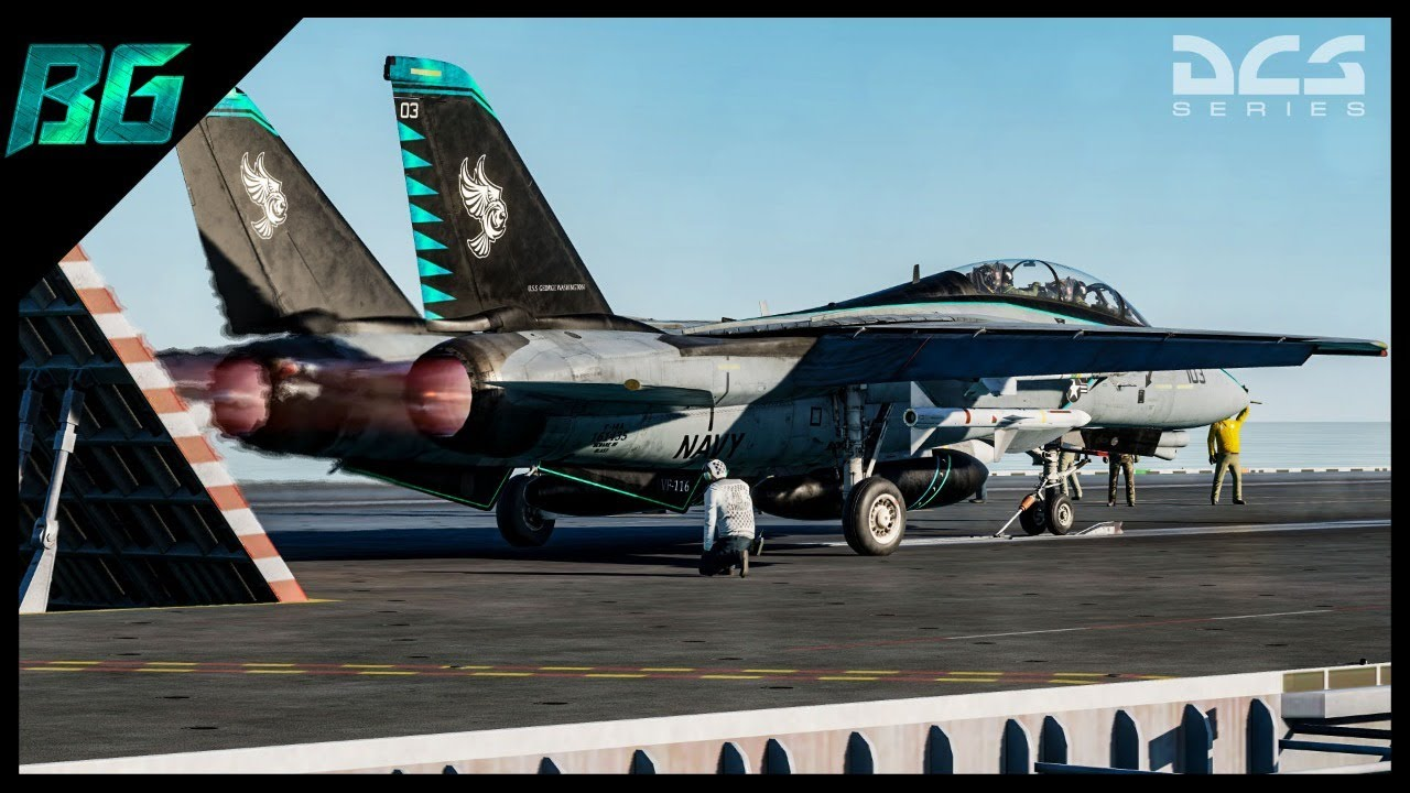 LIGHT 'EM UP! | F-14 Tomcat | DCS World Co-op Multiplayer ...